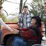 Bella, Charlie, Billy et Jacob